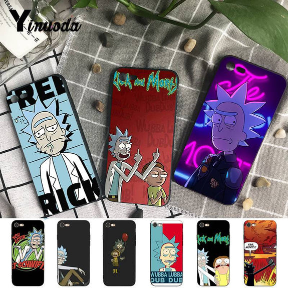 rick and morty coque iphone xs max