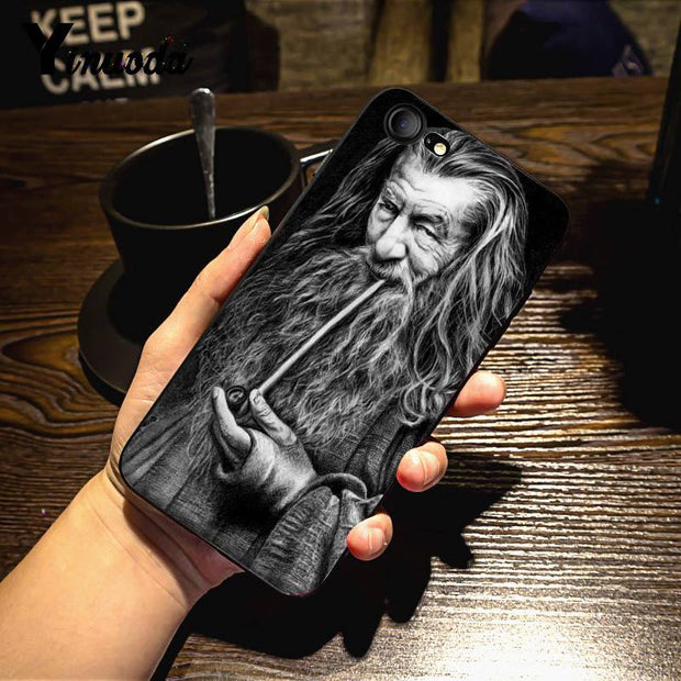 Yinuoda The Hobbit And The Lord Of The Rings Leading Phone Case For IPhone 7 6 X 6S 7 7plus 8 8Plus 5S SE XS XR XSMAX