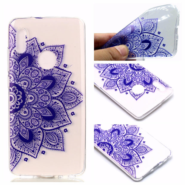 ZRICKIE Clear TPU Phone Case For Xiaomi Mi 6X Cute Pattern Slim Transparent Soft Silicone Back Cover For Xiaomi Redmi Note 5 Pro