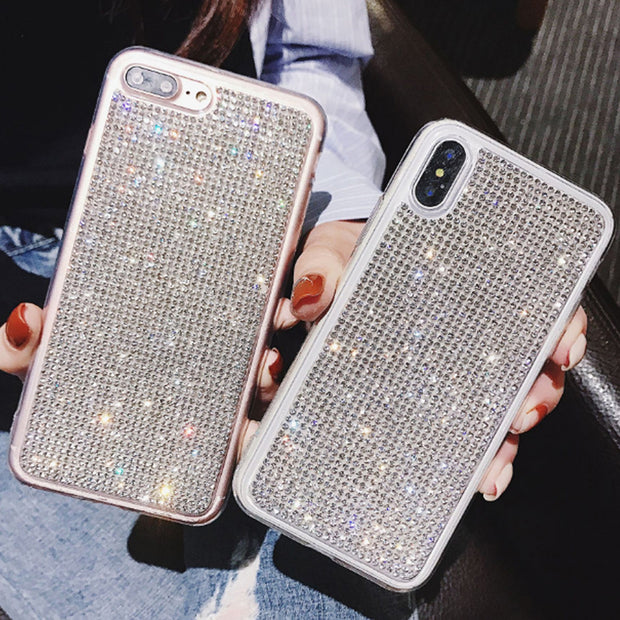 ZUCZUG Luxury Shining Jewelled Cases For IPhone XS MAX/XS/XR/X/8 PLUS/7/8/6 Plus/6s/6 Electroplating Diamond Phone Case 2019 New