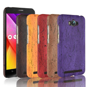 Zenfone Max ZC550KL Case Cover Wood Grain PU Leather Protective Hard For Coque Asus Zenfone Max ZC550KL Phone Cases Capa
