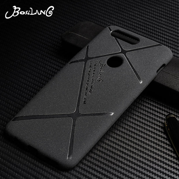 Bosilang For Coque OnePlus 5T Case Silicone Matte Fitted Funda Oneplus 5 Cover One Plus 3 Case Black Fundas Busines Plain Shells