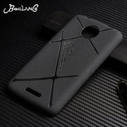 Bosilang For Cover Motorola Moto C Case Silicone Matte Fitted Case Moto C Plus Cover Black Coque Busines Plain Phone Bags Shells