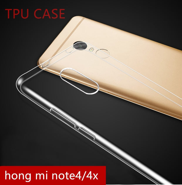 Case For Xiaomi Redmi 5 Plus Redmi Note 4 Pro 3 4X For Xiaomi Mix 2 Max 2 Note 2 3 6 Plus Note 5A 4A 5X A1 Soft TPU Phone Cover