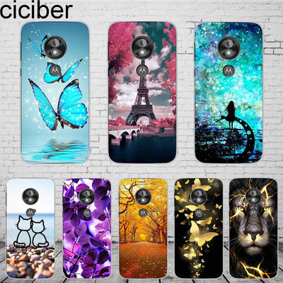Ciciber For Motorola Moto E5 Play Phone Case Soft Silicone 5.2'' Cover Back Clear Fundas For Moto E Play (5th Gen) Coque Capinha