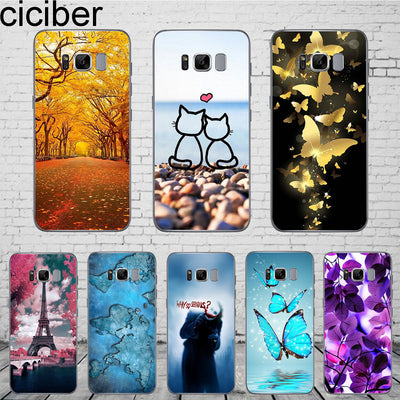 Ciciber For Samsung Galaxy S8 Case Cartoon Cute Phone Cases Soft Silicone Coque Fashion Cover For Samsung Galaxy S8 Cover 5.8""
