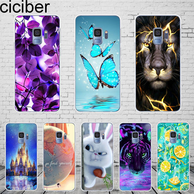 release date: 9f017 10007 Ciciber For Samsung Galaxy S9 Plus Case Fashion Cartoon Cute Phone Cases  Soft Silicone Coque For Samsung S9 Plus Cover 6.2
