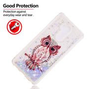 For LG G7 ThinQ Case Bling Quicksand Flower Pattern Glitter Liquid Soft Case Cover For LG G7 ThinQ Dynamic Coque Fundas Capa