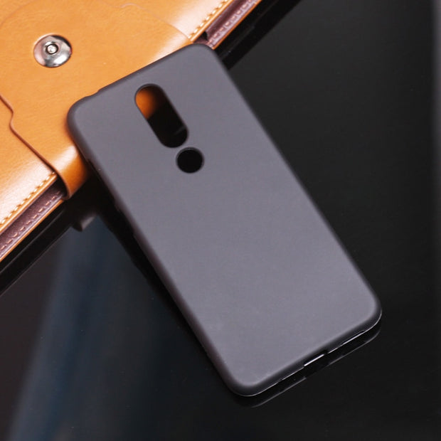 For Nokia 6.1 Plus 5.1 Plus 8 Sirocco 1 Soft TPU Silicon Phone Case For Nokia 9 3.1 8.1 7.1 2.1 7 Plus Full Matte Phone Case Bag