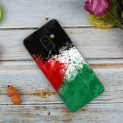 Free Palestine Flag Hot Fashion Transparent Case For Samsung Galaxy A3 A5 A9 A7 A6 A8 Plus 2018 2017 2016 Star A6S Note9 8 Cover