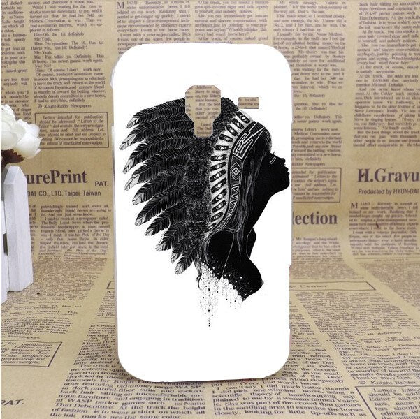 High Quality Painting White And Black Animals Hard Plastic PC Case FOR Samsung Galaxy Ace 2 I8160 8160