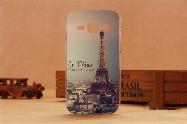 Hot Popular 11 Patterns Hot Selling Hard Plastic Fashion Case Cover For Samsung Galaxy Ace 3 III S7270 S7272 S7270 S7275