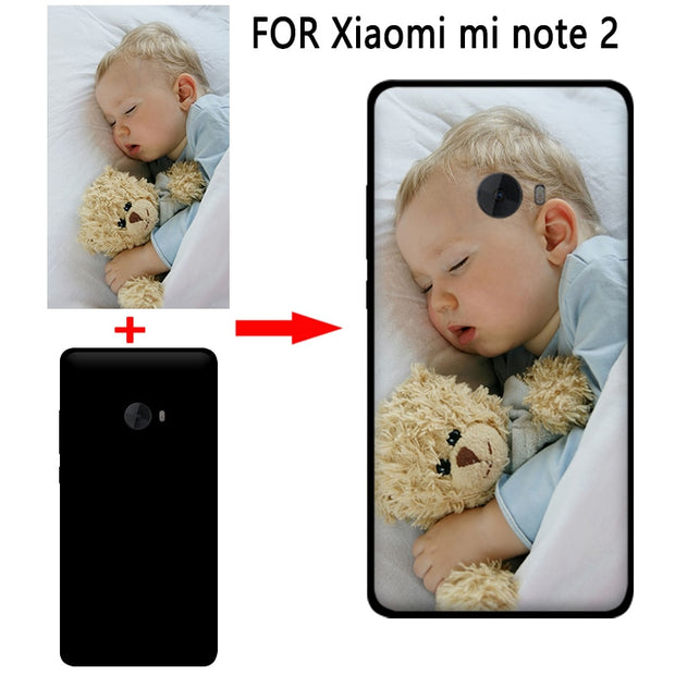 Mosirui Personalized Customized DIY Case FOR Xiaomi Mi Note2 HD UV Printing Cover Soft TPU Silicone