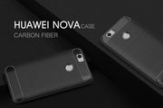 Oudini Show Personality Carbon Fiber Phone Case Soft Anti-Knock Cover For Huawei NOVA Case Free Shipping