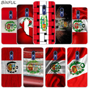 Peru Flag Clear Cover Case For Xiaomi Redmi 3 3S 6 Pro S2 4A 4X 5A 6A 5 Plus Note 5A Note 2 3 4 4X 5 6 Pro Mi 5X
