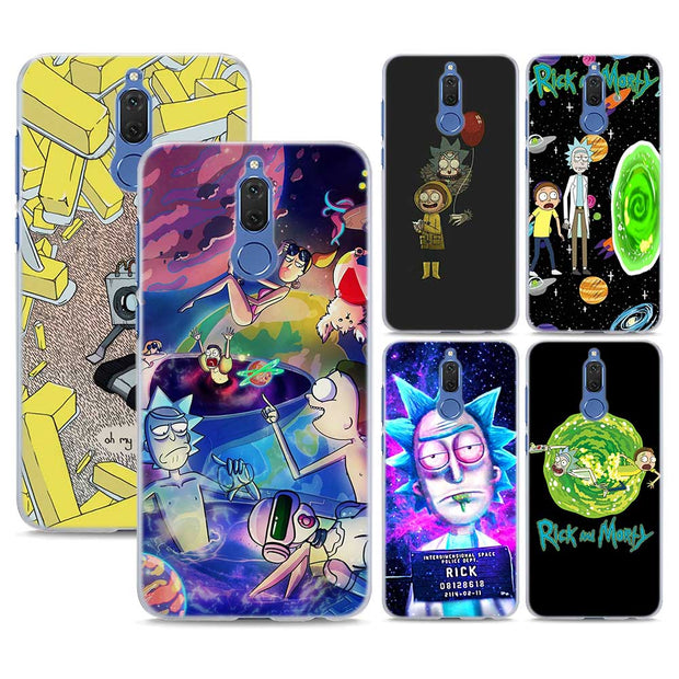 coque huawei p10 rick et morty