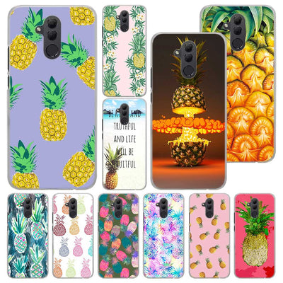 Summer Pink Pineapple Phone Case For Huawei Mate 20 Pro Mate 10 20 Lite 9 Hard PC Cases For Huawei Mate 20 Pro Case Cover
