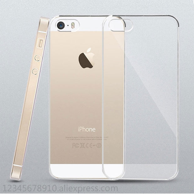 Tpu For IPhone 5s Case For Iphone Se Case For Iphone 5 Transparent Thin And Light Cellphone Scratchproof Anti-fall TPU Ultra-thi