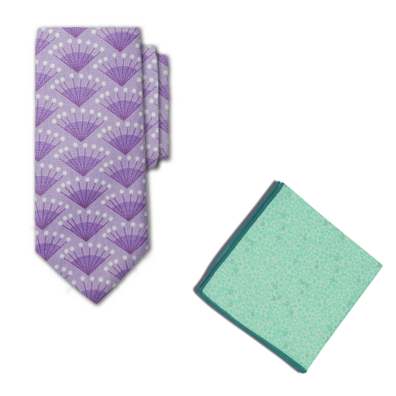 Barclay Necktie & Pocket Square