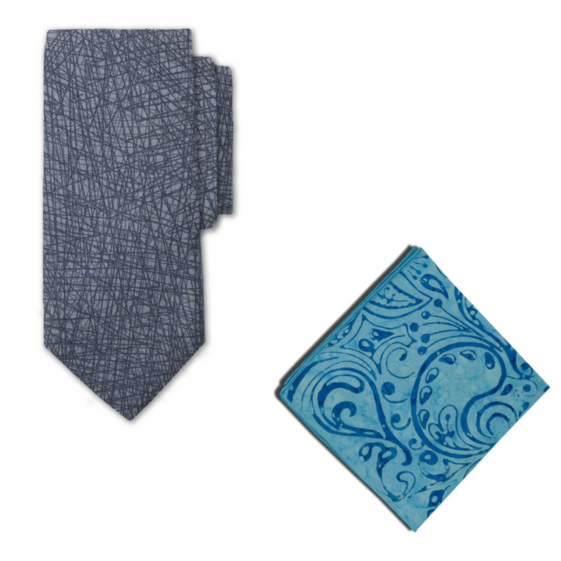Finley Necktie & Pocket Square