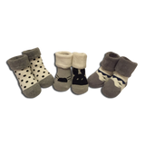 3 pack Baby Boys Winter Gray Socks