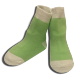 3 pack Baby Boys Lime Green Socks