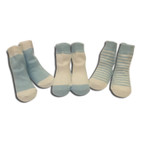3 pack Baby Boys Light Blue Socks