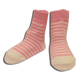 3 pack Baby Girls Pink Socks