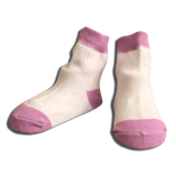 3 pack Baby Girls Purple Socks
