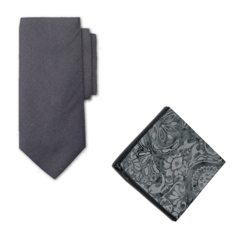 Sawyer Necktie & Pocket Square
