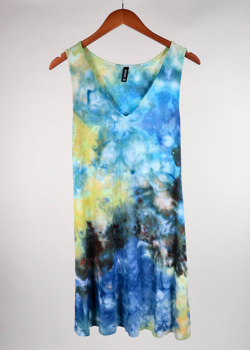 Medium V Neck Pocket Tank Dress