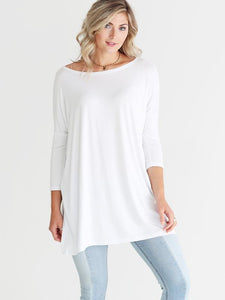 Large 3/4 Sleeve PIKO Tunic