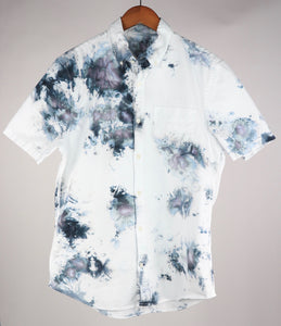 Medium Short Sleeve Stretch Oxford Button Down