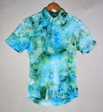 Load image into Gallery viewer, XS Short Sleeve Stretch Oxford Button Down
