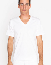 Load image into Gallery viewer, XL 100% Cotton V Neck T-Shirt