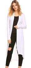 Load image into Gallery viewer, XL Lightweight Duster Cardigan