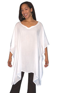 One Size Plus Rayon Poncho