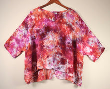 Load image into Gallery viewer, XXL Flowy High Low Rayon Top
