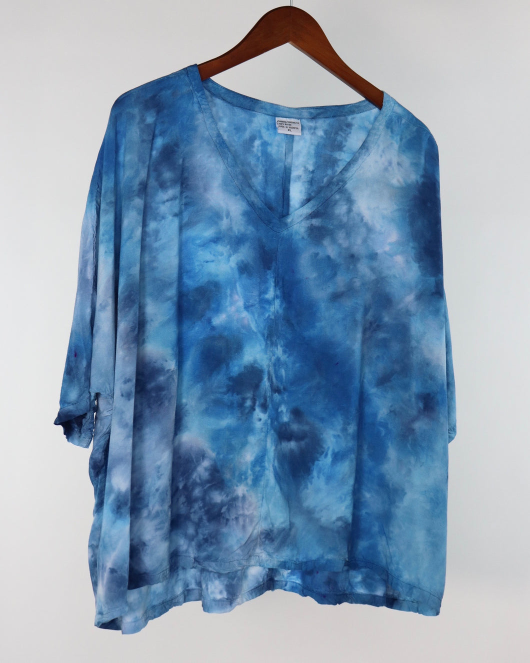 XL Flowy High Low Rayon Top