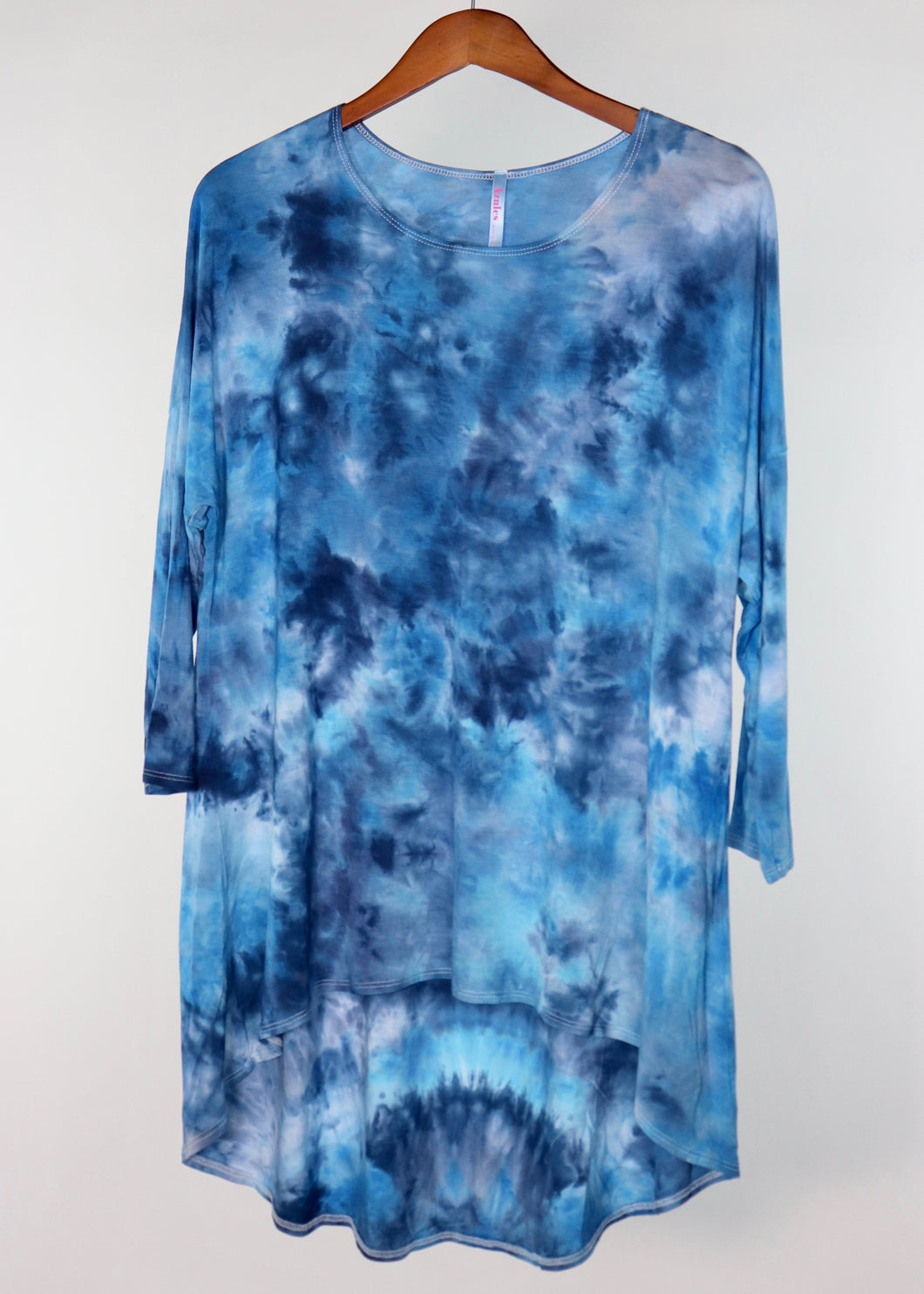 XL High Low Drop Sleeve Tunic Top