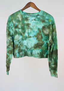 Large Long Sleeve Thermal Crop