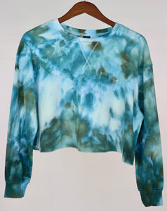 XL Long Sleeve Thermal Crop