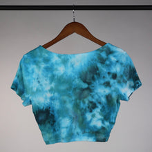 Load image into Gallery viewer, Large Scoop Neck Ribbed Crop Top