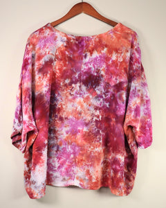 XXL Flowy High Low Rayon Top
