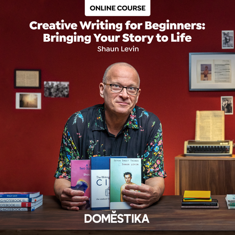 Creative Writing for Beginners Domestika Course