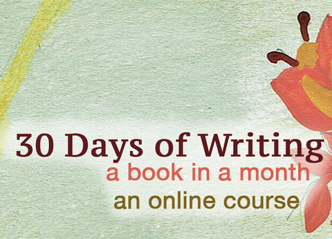 30 Days of Writing: Create a Book in a Month