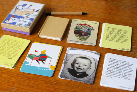 48 Writing Cards: A Box Set with Notebook and Pen