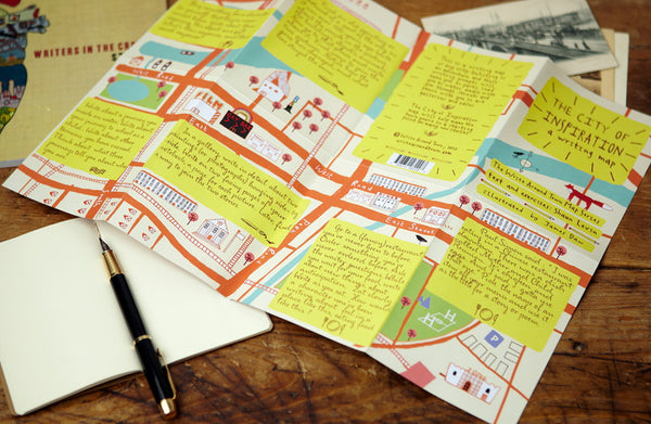 All 6 Writing Maps in the City Inspiration Collection: Save 20%