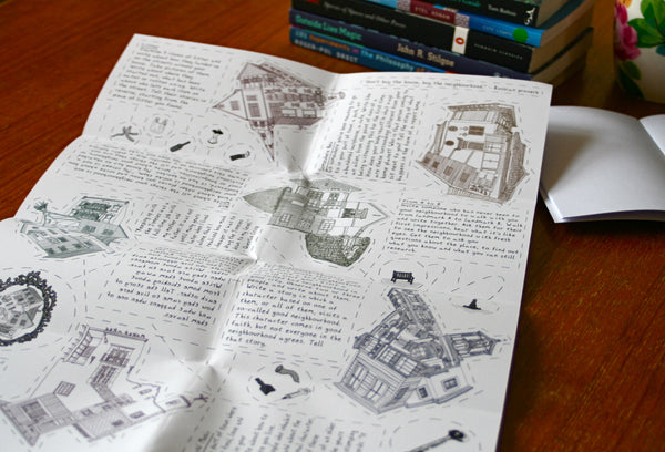 All 6 Writing Maps in the City Inspiration Set: Save 20%