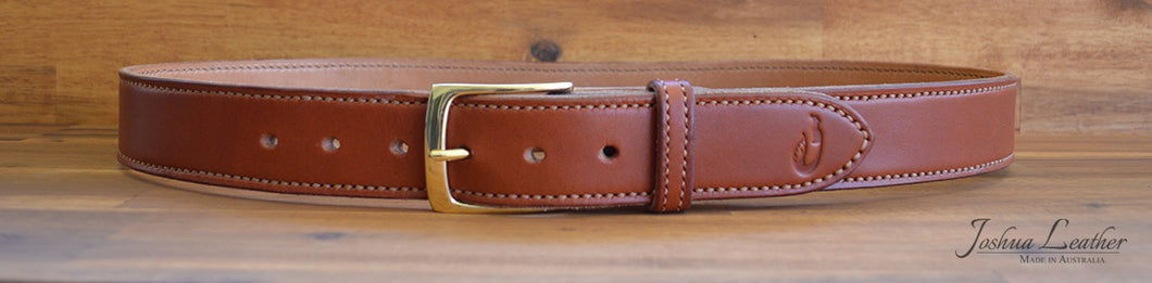 The Imperial - a premium hand sewn belt with an interchangeable buckle